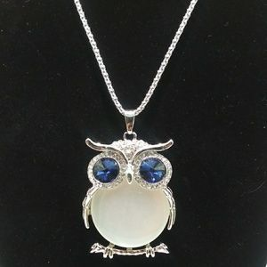Beautiful BOHO Owl Pendant